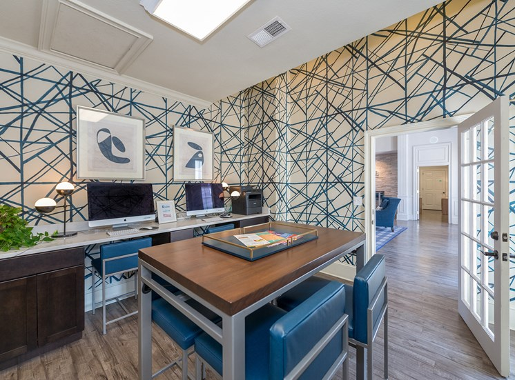 Swift Creek Commons Apartments - Resident business center