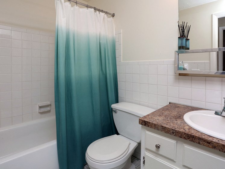 Apartments in Bedford Heights Bathroom