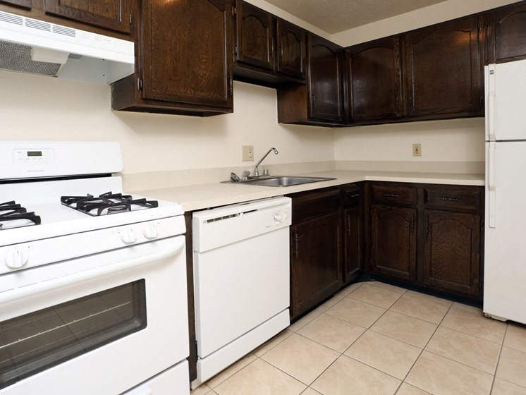 Apartments in Bedford Heights Kitchen