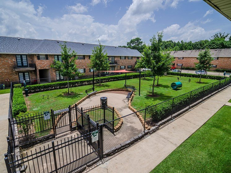 New dog park at 21 South at Parkview Apartments in Baton Rouge, LA