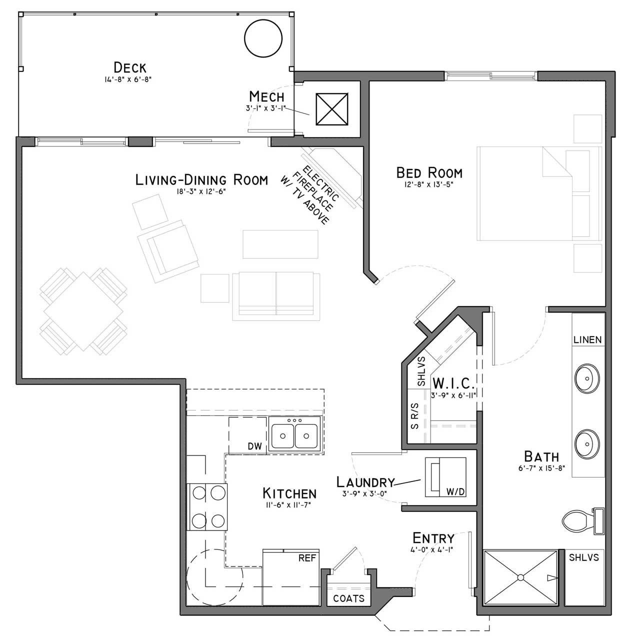 Meadows At Cascade Park Apartments: Share Floor Plans With Friends