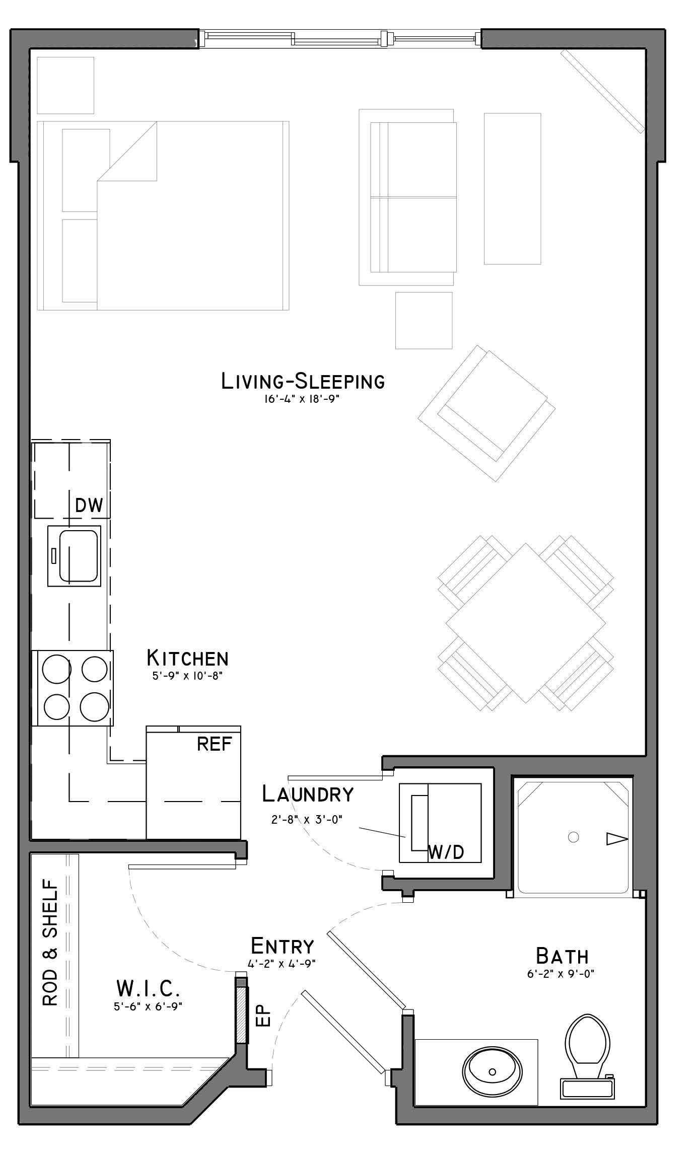 Floor Plans The Flats At Shadow Creek East Lincoln Ne