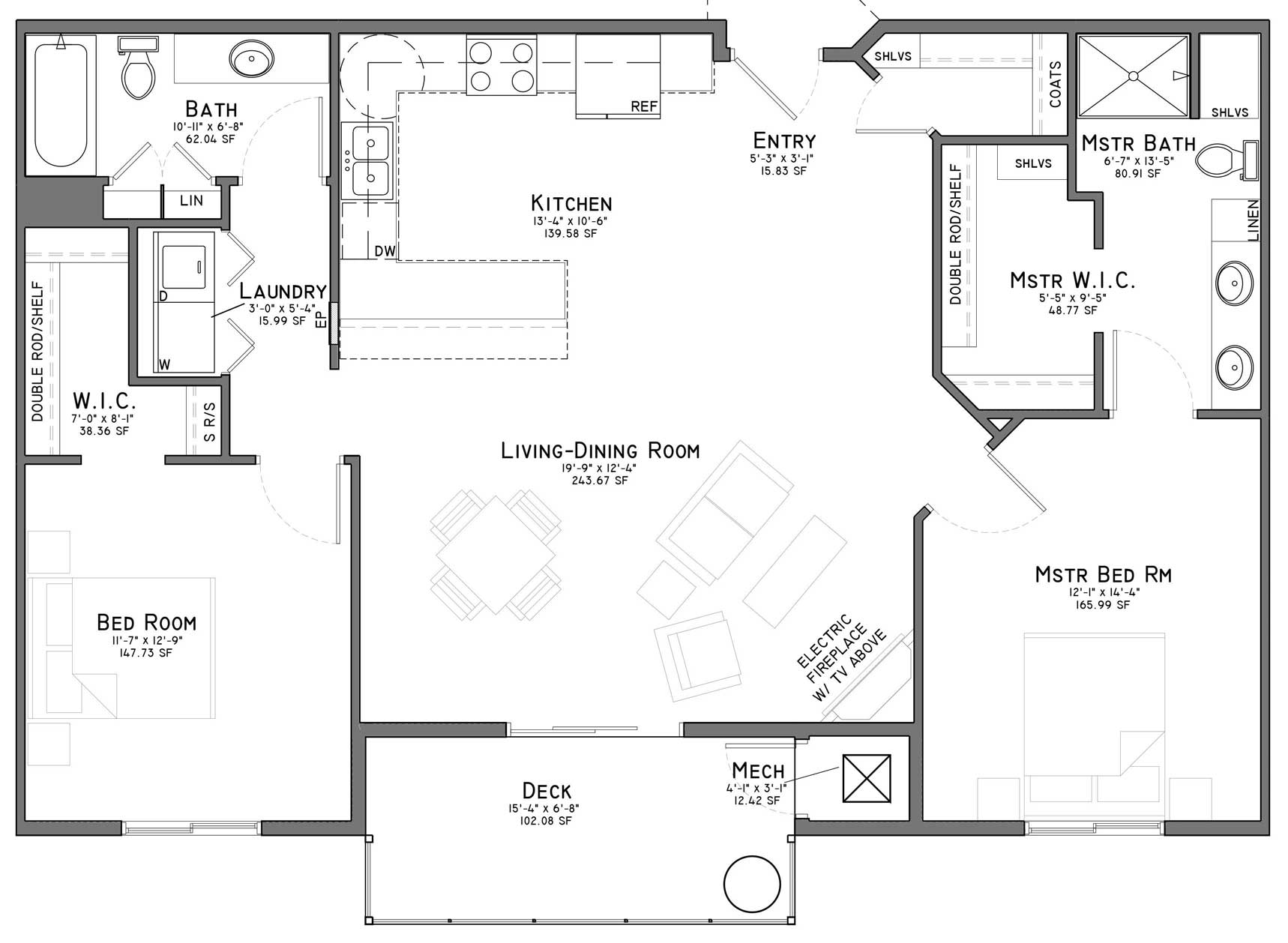 Floor plans the flats at shadow creek east lincoln ne - Two bedroom apartments lincoln ne ...