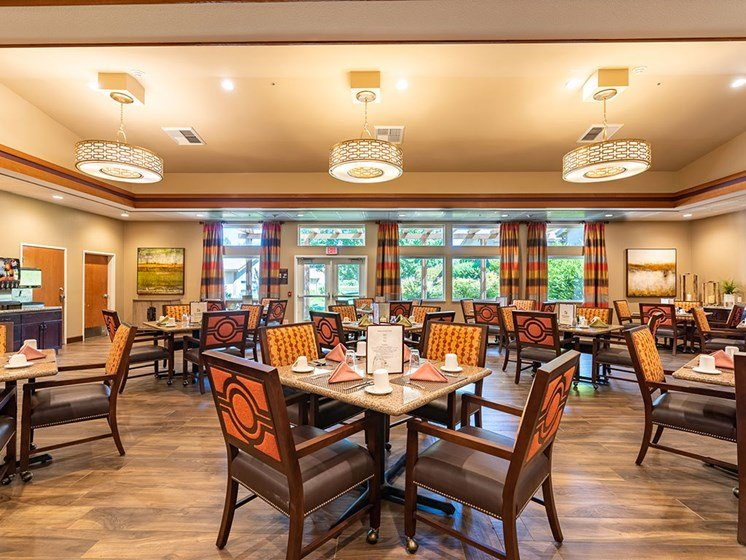 3 Nutritious Meals and 2 Healthy Snacks Each Day at Healdsburg, A Pacifica Senior Living Community, Healdsburg, CA