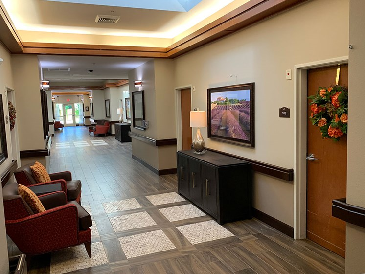 Transportation to medical appointments at Healdsburg, A Pacifica Senior Living Community, California, 95448