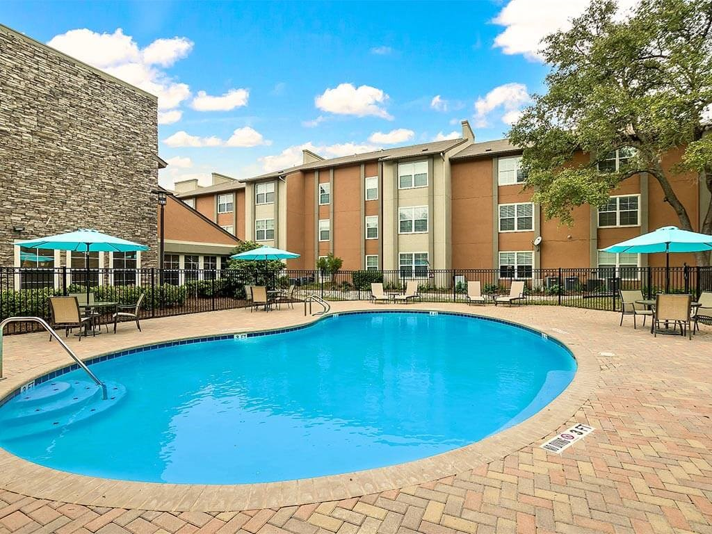 Heated Swimming Pool with Exercise Classes at NewForest Estates, San Antonio