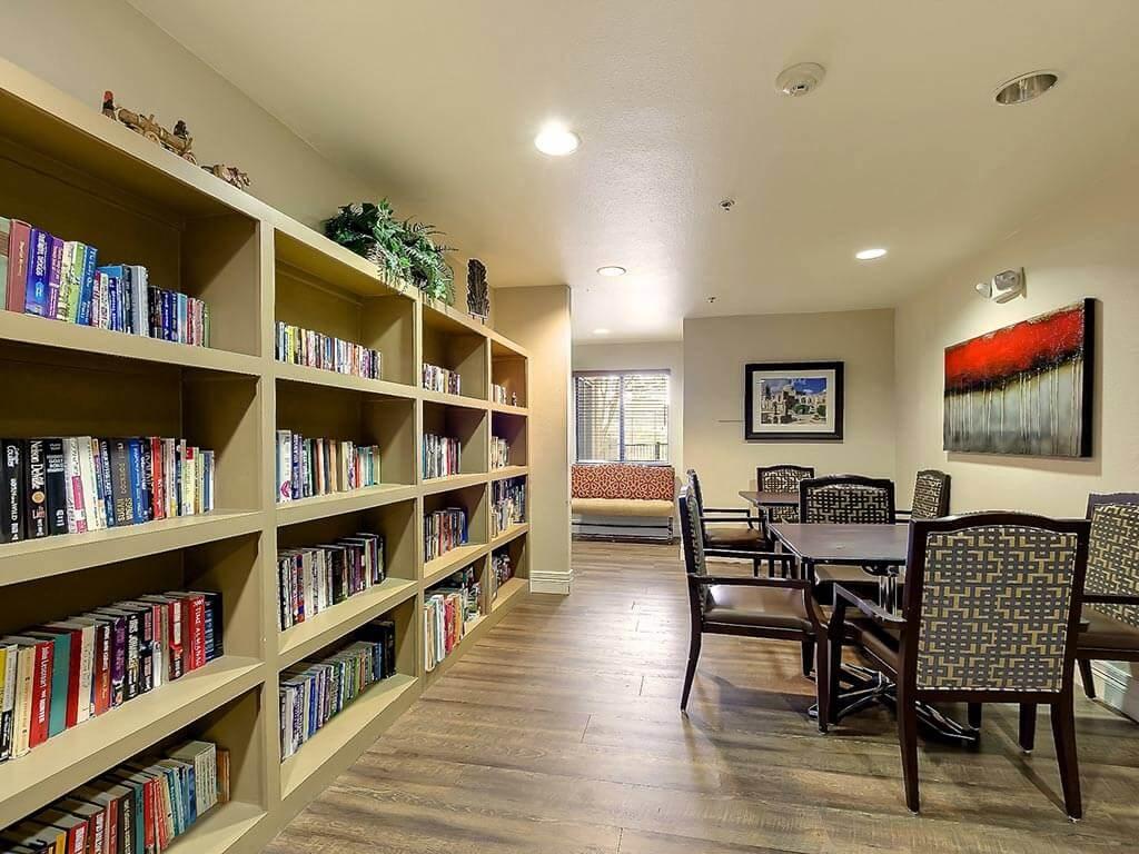 Reading Room at NewForest Estates, San Antonio, TX