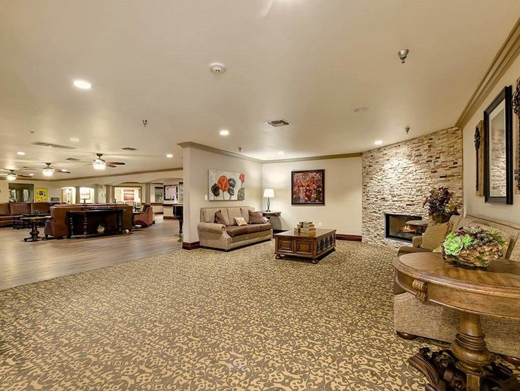 Spacious Sitting Room for Socializing at NewForest Estates, Texas