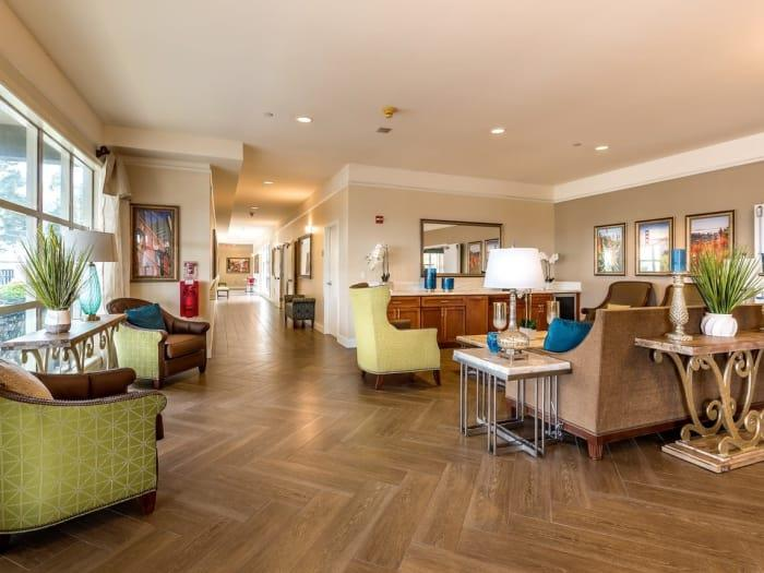 Upgraded Interiors  at Pacifica Senior Living Mission Villa, California