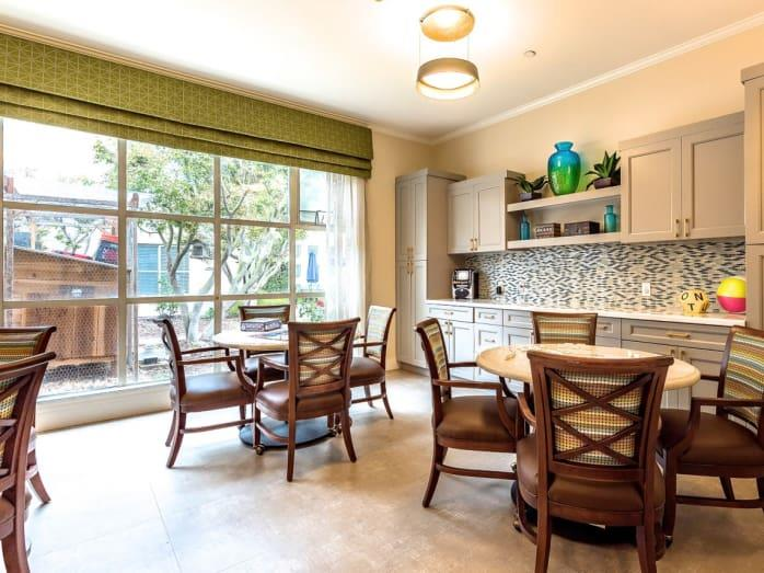 Formal Dining Room at Pacifica Senior Living Mission Villa, Daly City, 94014