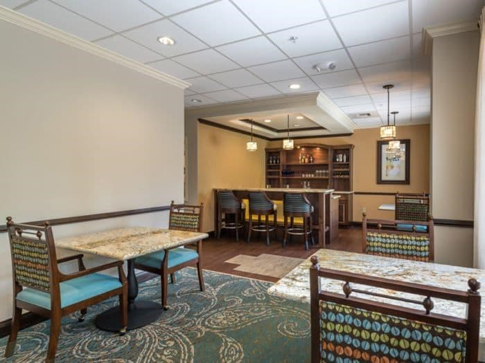 Kitchen Dining Room combo with Fresh Delicious Meals at Pacifica Senior Living Santa Fe in Santa Fe, NM