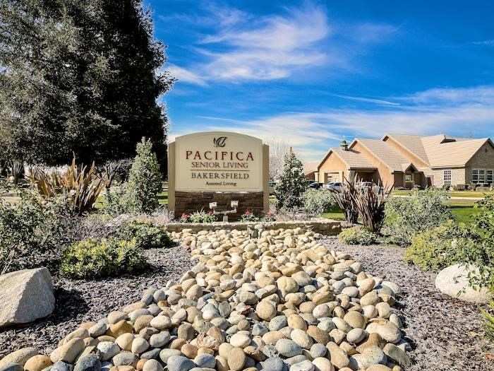 Pacifica Senior Living Bakersfield 3209 Brookside Dr. located in the Southwest off Gosford and South Laurelglen