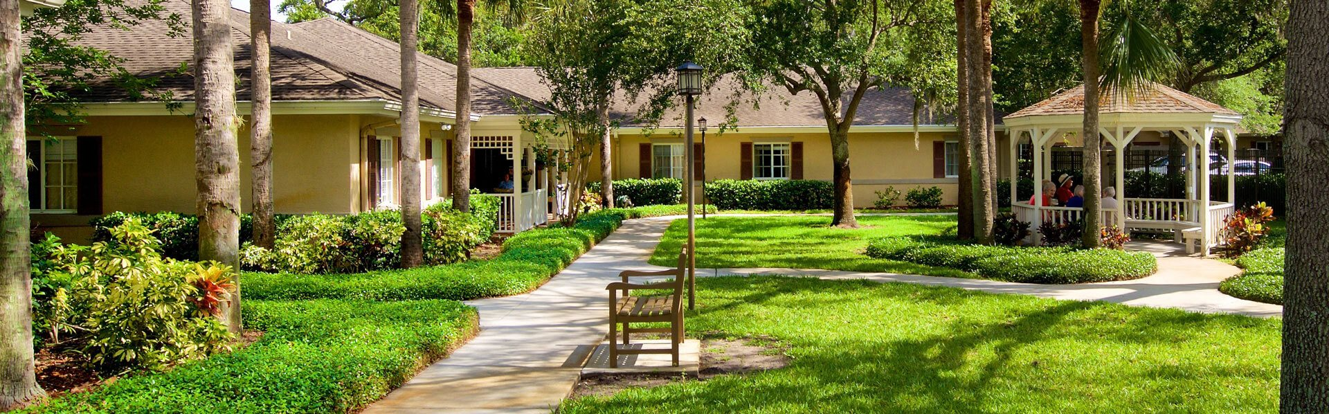 Picturesque Garden Setting  at Pacifica Senior Living Belleair, Clearwater, 33756