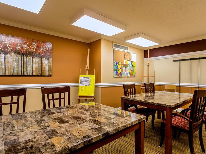 Modern Furniture updated space at Pacifica Senior Living Calaroga Terrace, Portland, OR