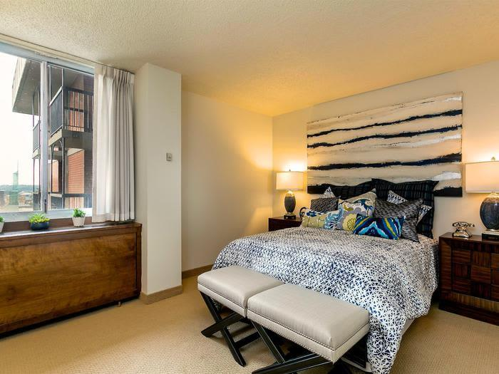 Spacious Bedrooms with Views at Pacifica Senior Living Calaroga Terrace, Portland, OR