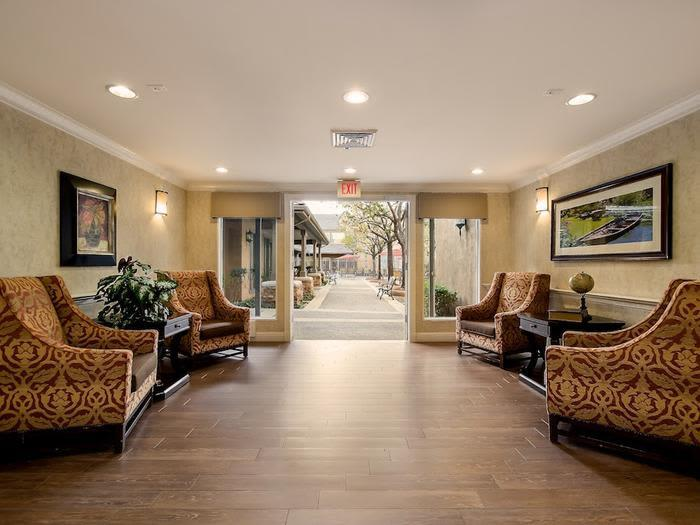 Lovely foyer at Pacifica Senior Living Chino Hills in Chino Hills, CA