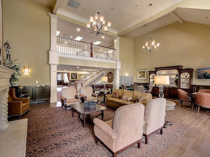 Upscale Living space at Pacifica Senior Living Chino Hills in Chino Hills, California