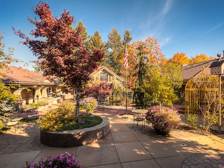 Courtyards With Plantation at Pacifica Senior LIving, Courtyard at Coeur d'Alene, Coeur d Alene, 83814