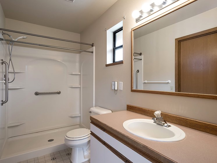 Bathroom Accessories For Senior Living Assistance at Pacifica Senior Living Ellensburg, Ellensburg, WA