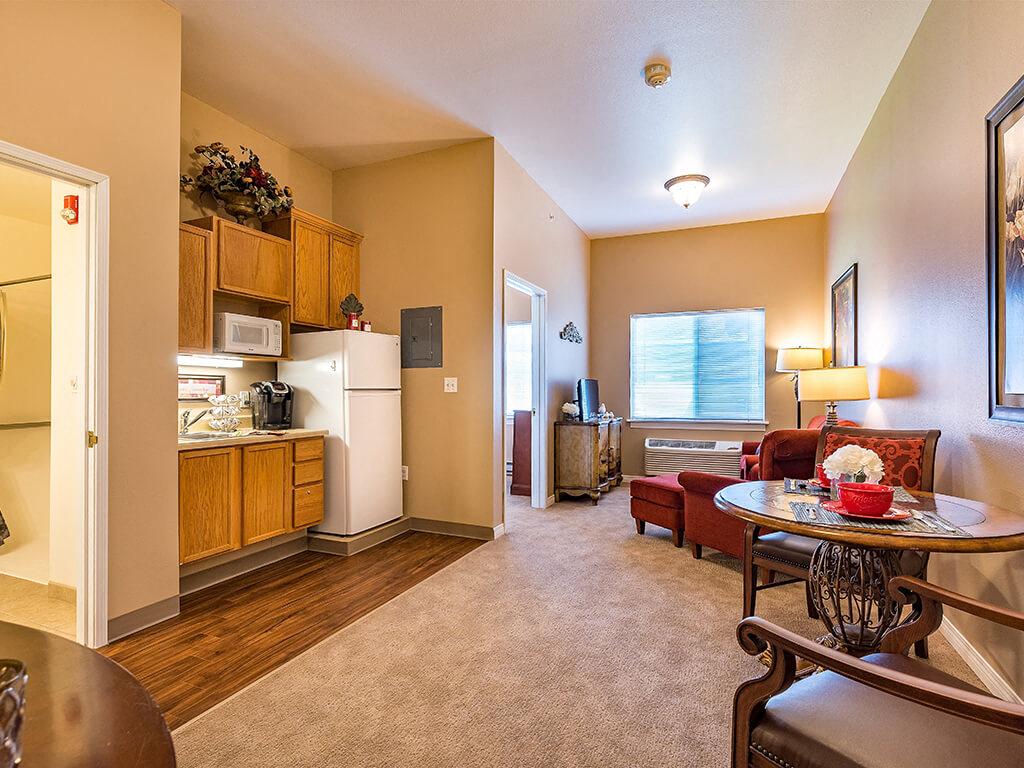 Fully Furnished Apartment at Pacifica Senior Living Ellensburg, Ellensburg