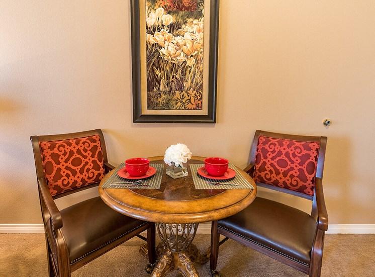 Impressive Furniture at Pacifica Senior Living Ellensburg, Washington