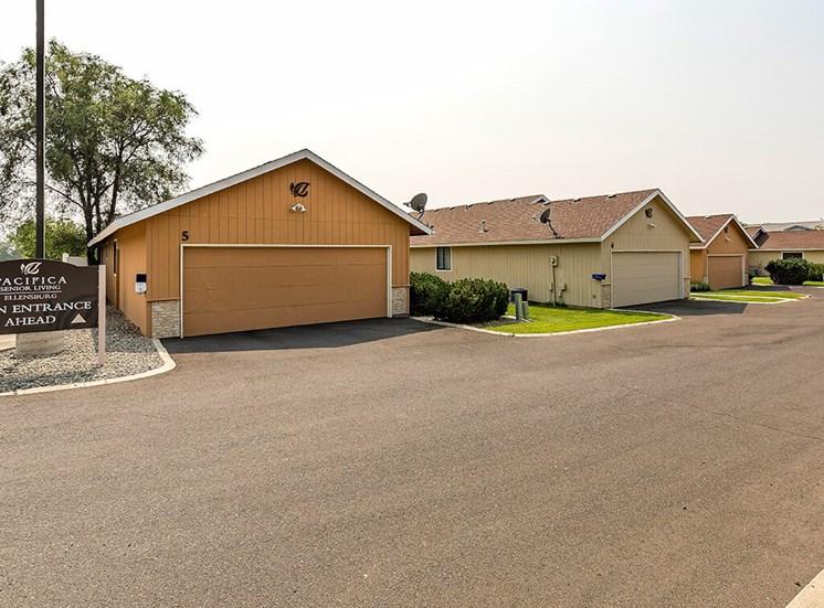 Resident Parking Available at Pacifica Senior Living Ellensburg, Ellensburg, Washington