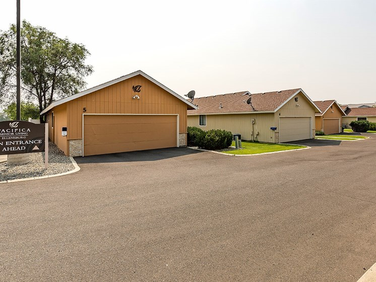 Resident Parking Available at Pacifica Senior Living Ellensburg, Ellensburg, Washington