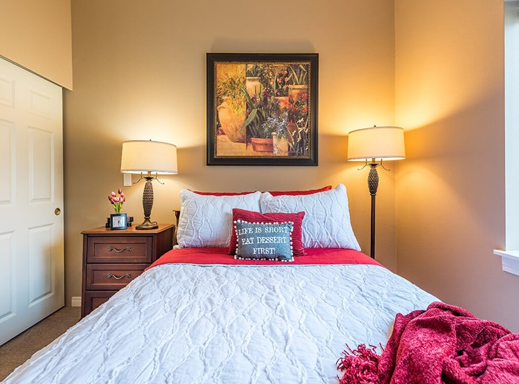 Soft Comfy Beds at Pacifica Senior Living Ellensburg, Ellensburg