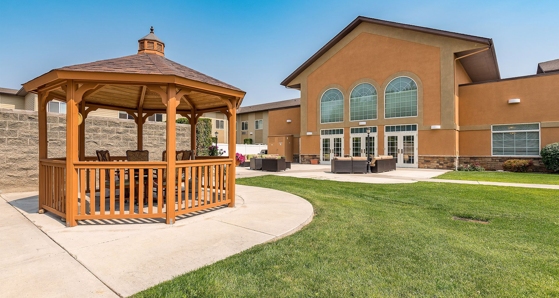 Senior Assisted Living Services In The Heart Of The City at Pacifica Senior Living Ellensburg, Washington