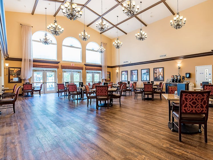 Indoor Common Areas at Pacifica Senior Living Ellensburg, Ellensburg