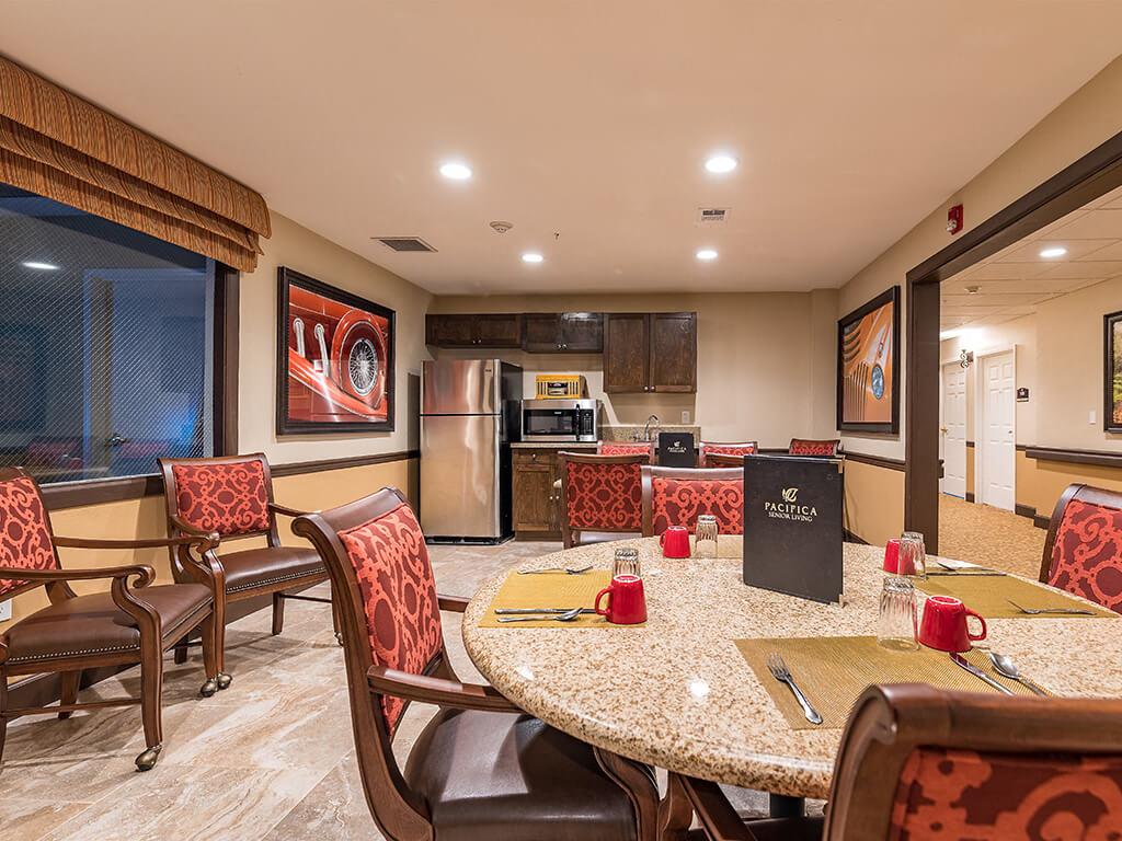 Dining Room With Energy Efficient Appliances at Pacifica Senior Living Ellensburg, Ellensburg, 98926
