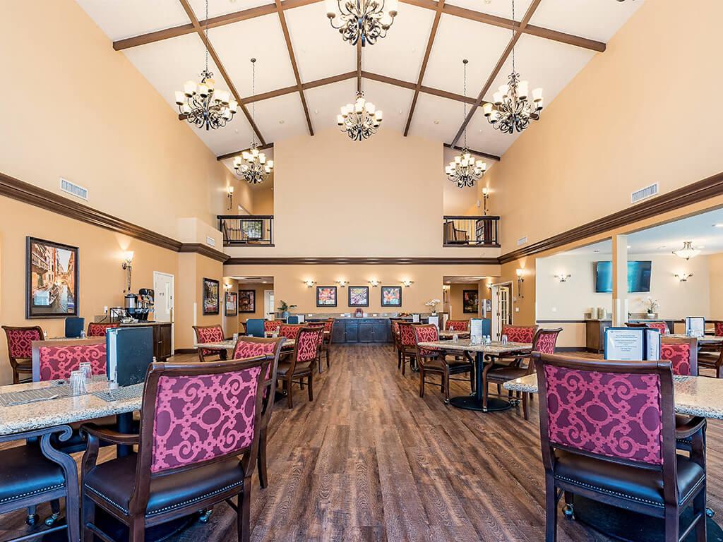 Distinctive Custom Interiors at Pacifica Senior Living Ellensburg, Ellensburg, WA, 98926