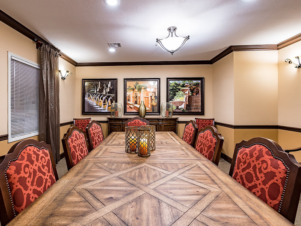 Private Dining Room for Guest Meals at Pacifica Senior Living Ellensburg, Ellensburg