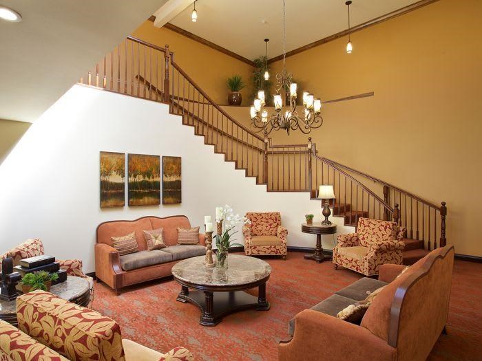 Comfortable couches at Pacifica Senior Living Escondido