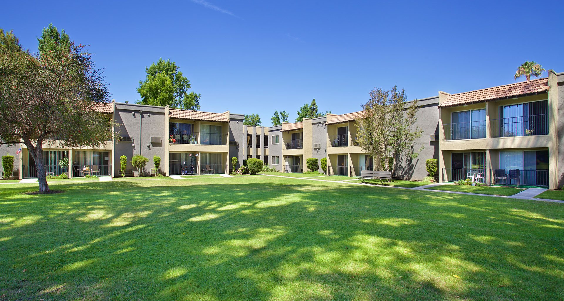 Lush Green Outdoor Spaces at Pacifica Senior Living Escondido, Escondido, 92027