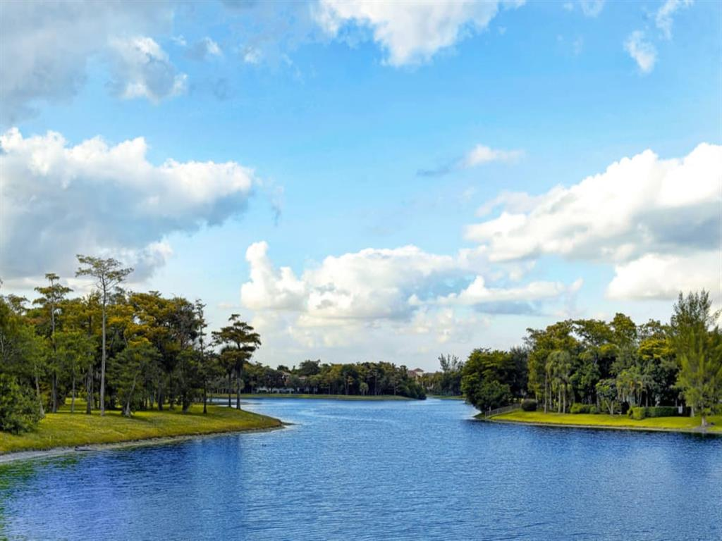 Lakeside at our senior living facility in Lauderhill, Florida