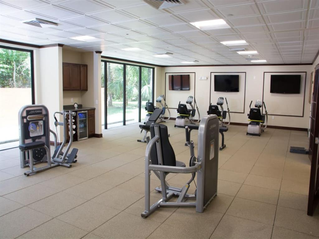 Fully Equipped Exercise facility at our senior living facility in Lauderhill, Florida
