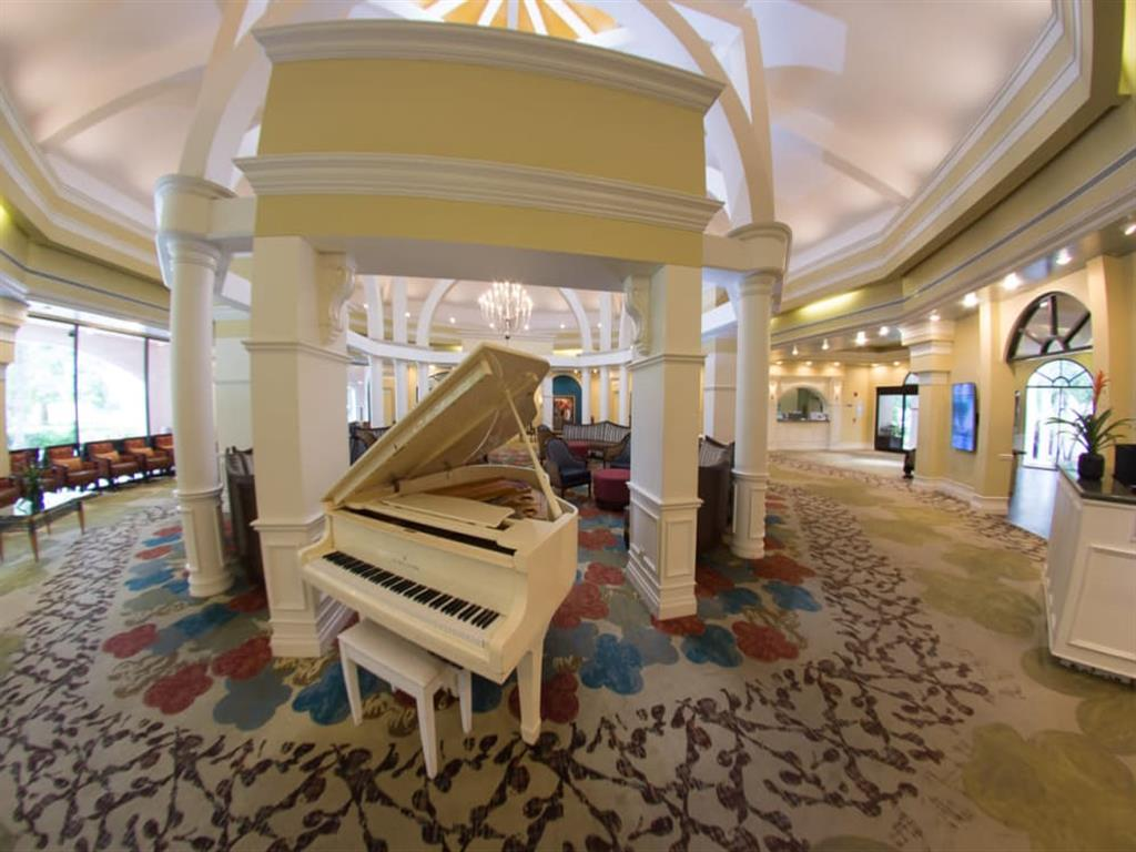 Music room for elegant living at Pacifica Senior Living Forest Trace in Lauderhill, Florida