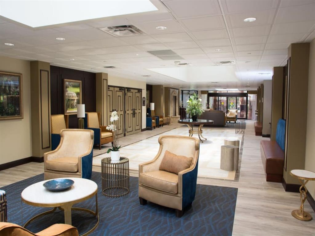 Meet with family and friends in our common room at Pacifica Senior Living Forest Trace in Lauderhill, Florida