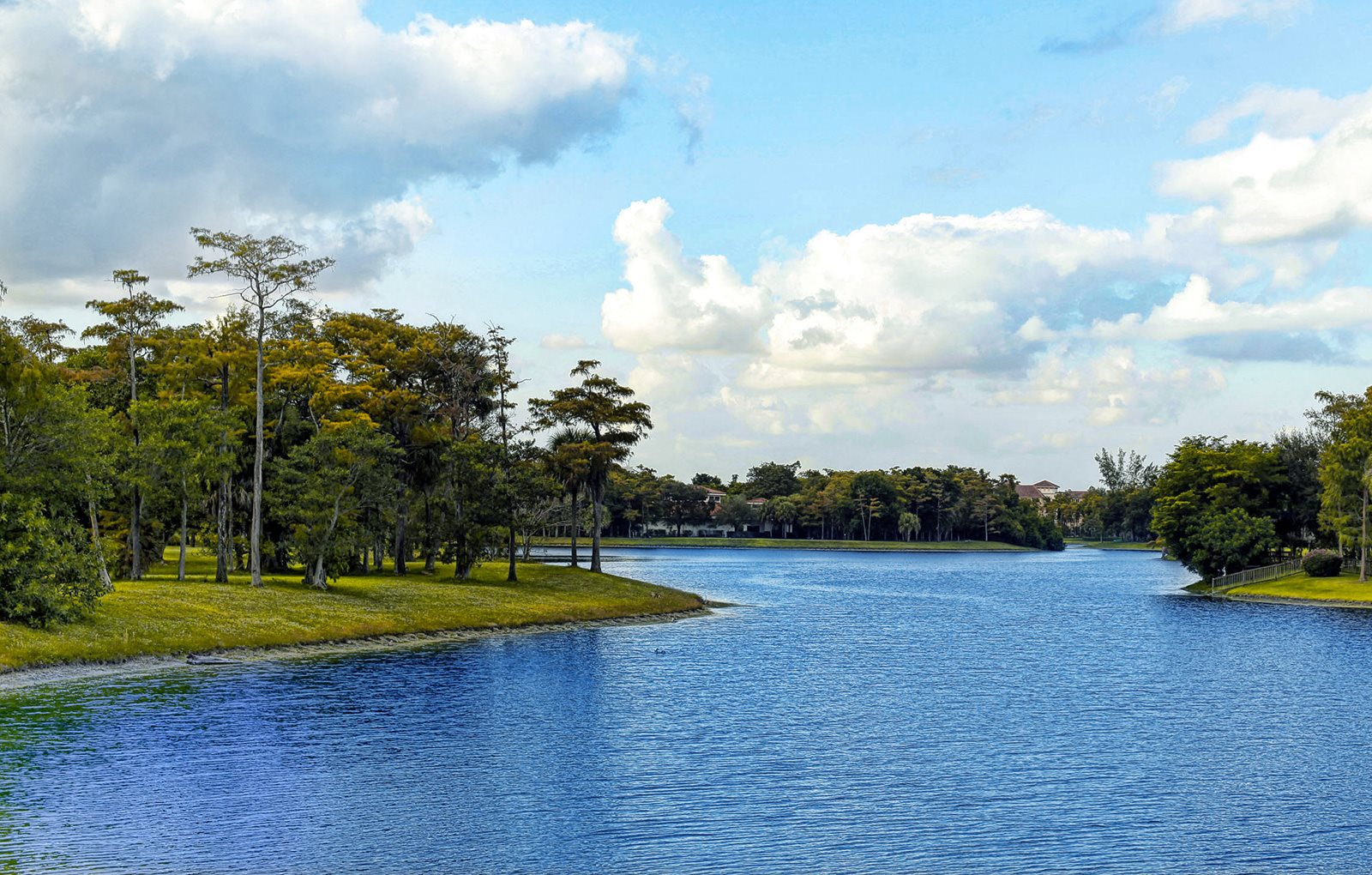 Sparking 30-Acre Lake Within Community at Pacifica Senior Living Forest Trace, Ft. Lauderdale, FL, 33319