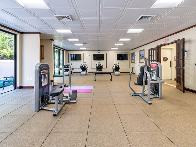 Gym at Pacifica Senior Living Forest Trace, Lauderhill