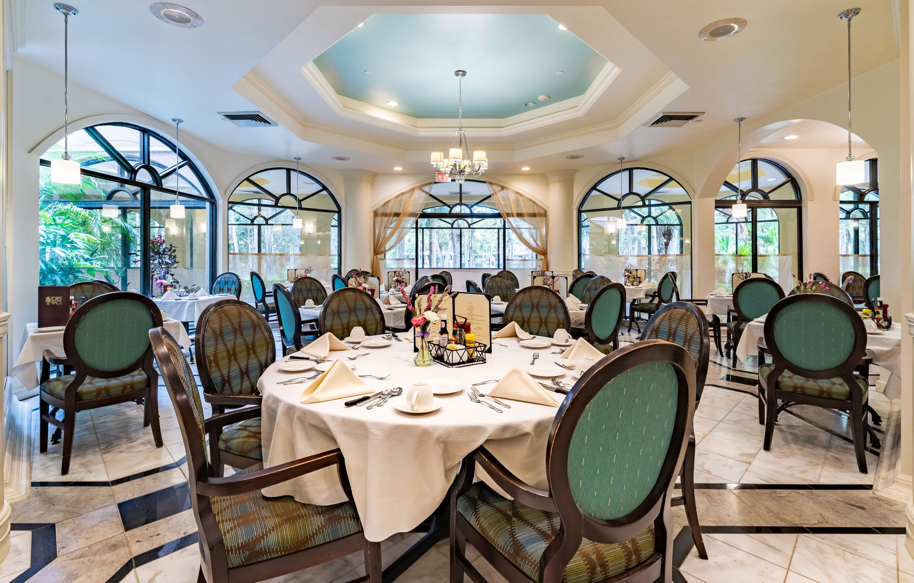Private Dining Rooms at Pacifica Senior Living Forest Trace, Florida, 33319