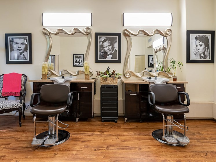 Beauty Salon at Pacifica Senior Living Forest Trace, Lauderhill, 33319