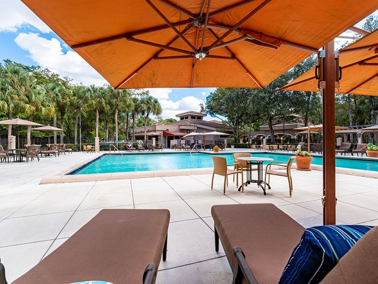 Heated Pool at Pacifica Senior Living Forest Trace, Florida, 33319
