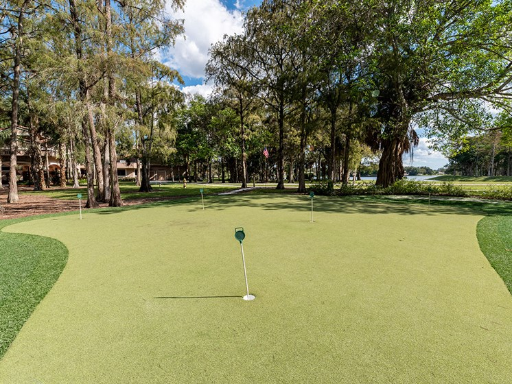 Outdoor Play Area at Pacifica Senior Living Forest Trace, Lauderhill, FL, 33319
