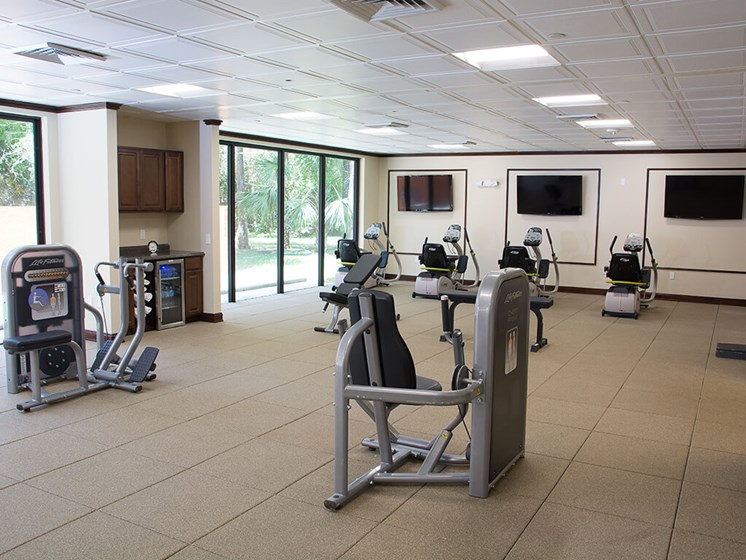 Fully Equipped Exercise facility at our senior living facility in Ft. Lauderdale, FL, 33319