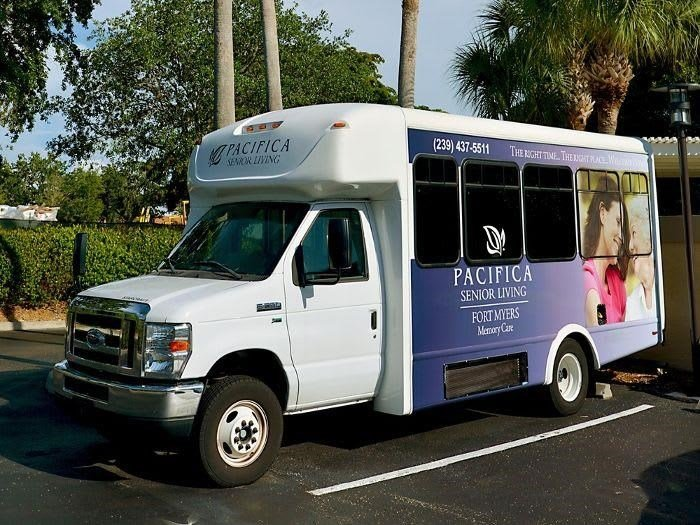 Complimentary Bus Transportation at Pacifica Senior Living Fort Myers