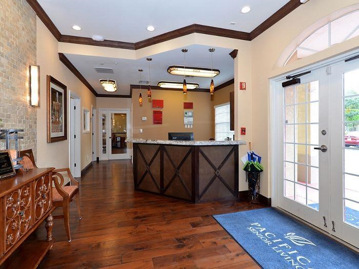 Open and Bright Lobby at Pacifica Senior Living Fort Myers