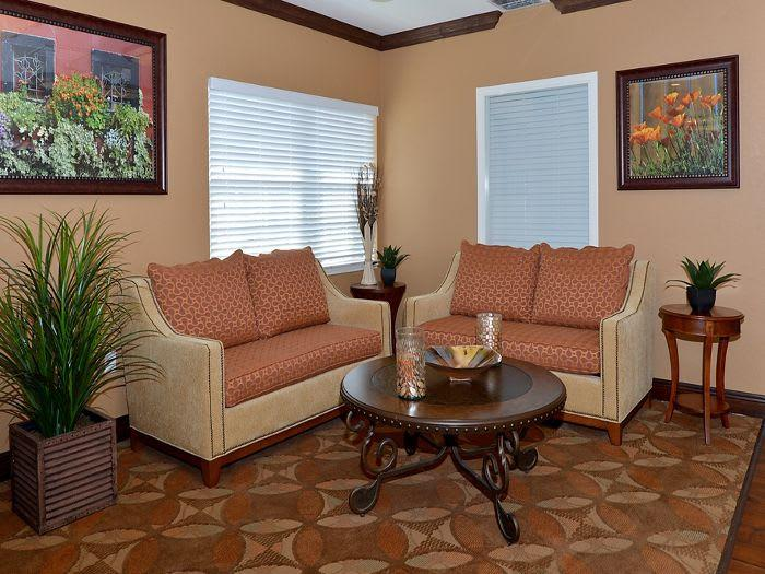 Gracious living room at Pacifica Senior Living Fort Myers