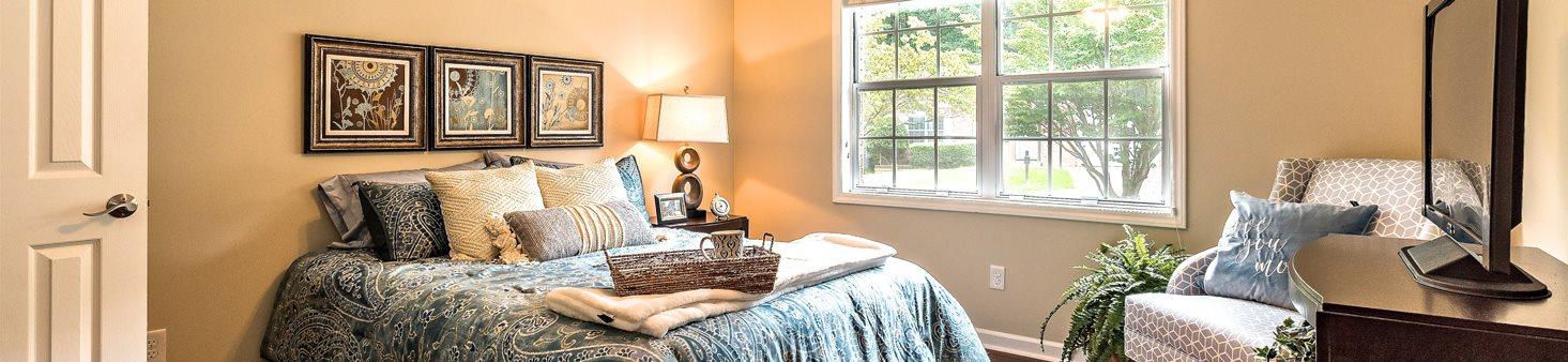 Charming Interior Finishes at Pacifica Senior Living Heritage Hills, North Carolina